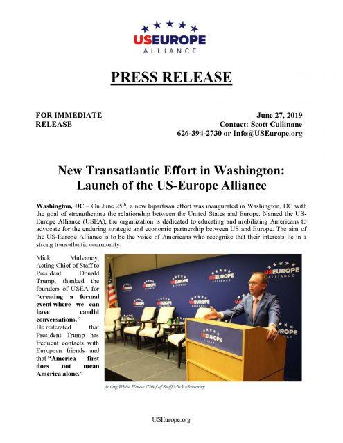 USEA Press Release